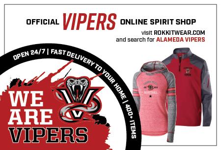 Alameda Vipers Store